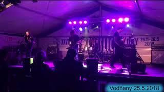 Video Metallica Czech Tribute Band Live Vodňany 25.5.2018 (Fuel, Bells