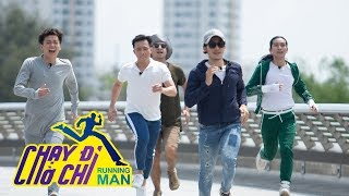 Chạy Đi Chờ Chi| Ngô Kiến Huy bỏ xa Jun Phạm ngay trong thử thách đầu tiên