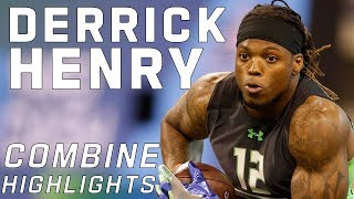 Derrick Henry's BEAST MODE Workout! | 2016 NFL Combine Highlights