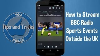 How to listen to Premier League Football outside the UK on Android