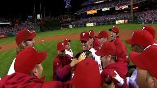 NLDS Game 1: Halladay's historic no-hitter in the NLDS against the Reds