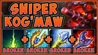 UNTOUCHABLE STRATEGY! SNIPER KOG'MAW IS TRULY UNFAIR! KOG'MAW TOP S9 GAMEPLAY! - League of Legends