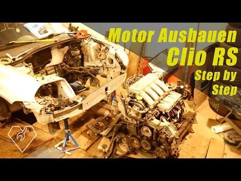 Motor ausbau beim Clio Step by Step [Clio]