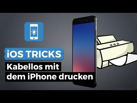 Vom iPhone drucken - Schnell & einfach kabellos drucken