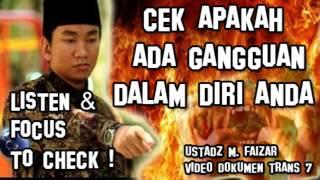 SEGERA Cek Apa Anda Ada Gangguan - ENG. SUBT - Ruqyah Palembang