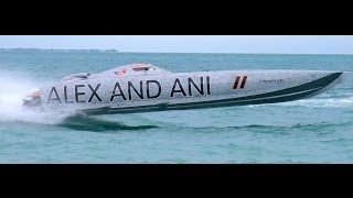 GoPro 160 MPH clips ALEX AND ANI Listen Up! Jimmy Cazzani Super Boat Unlimited Offshore Racing