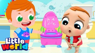 Potty Training Song | Kids Songs & Nursery Rhymes by Little World