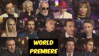 ¡World Premiere de Bohemian Rhapsody! Principales Declaraciones