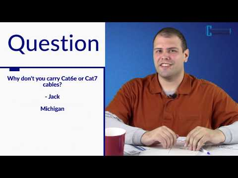 What is Cat6e or Cat7?