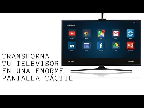 Transforma tu televisor en una enorme pantalla táctil