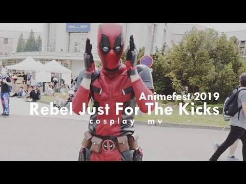 Animefest 2019 | Rebel Just For The Kicks