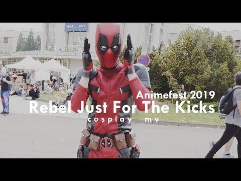 Animefest 2019 | Rebel Just For The Kicks