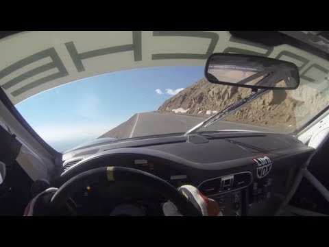 Watch This Porsche Flirt With Mountainous Death