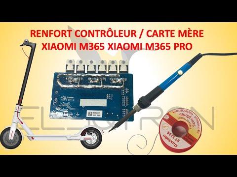 Renfort contrôleur / carte mère trottinette électrique xiaomi m365 avec soudure 1ère partie