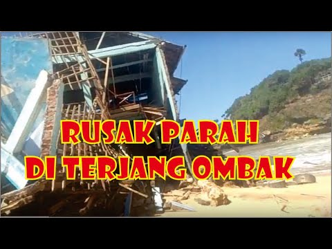 Pantai Drini Gunungkidul Yogyakarta_ Dihantam Ombak Setinggi 6 Meter