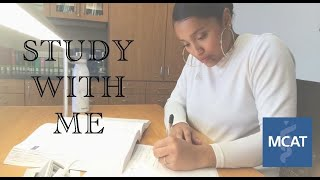 Study With Me | MCAT Prep VLOG