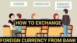 How to exchange indian currency to foreign currency from bank/online/local markets