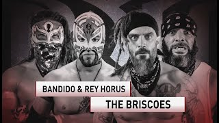 Bandido & Rey Horus vs. The Briscoes, LFI vs. VLNCE UNLTD & More   Ring of Honor Tues. at 10 p.m. ET