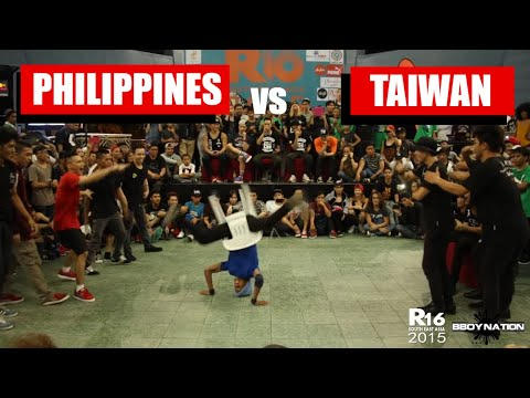 Philippines vs Taiwan | Finals | Crew battle | R16 South East Asia 2015 | Bboynation