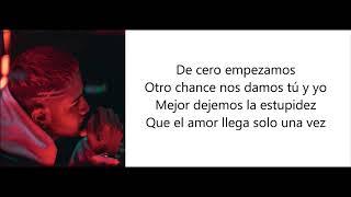 CNCO - De Cero (Letra / Lyrics)