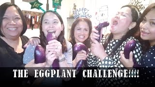 THE EGGPLANT CHALLENGE!!! LOL🍆