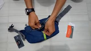 Review dan Kombinasi Eiger Waist Bag ASCENDA CROSS LINK With CARABINER 5 mm