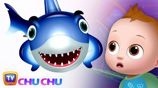 Baby Shark - Great White Shark - Learn Shark Names For Children - ChuChuTV Nursery Rhymes & Songs