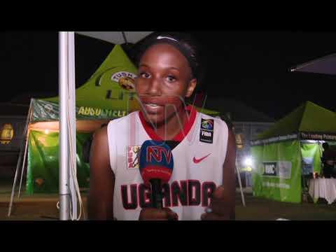 Uganda's Basketball Gazelles beat Nigeria in 3x3 Africa cup