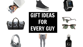 GIFTS FOR EVERY GUY | LAST MINUTE VALENTINE'S DAY GIFT IDEAS 2017