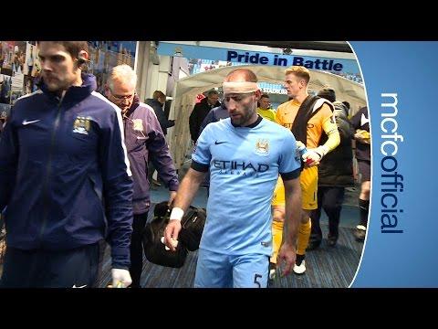 City 2-2 Burnley | TUNNEL CAM | Barclays Premier League 14/15