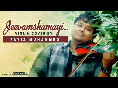 Jeevamshamayi Violin Cover By Fayiz Muhammed | Theevandi | Kailas Menon