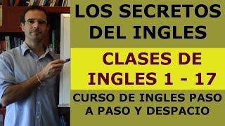 Curso de ingles GRATIS - Clases de ingles 1-17