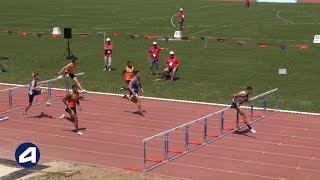 Angers 2019 : Finale 110 m haies Cadets (Sasha Zhoya en 12''96)
