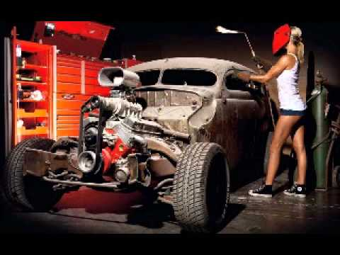 Split Nixon - Hot Rod Covergirl