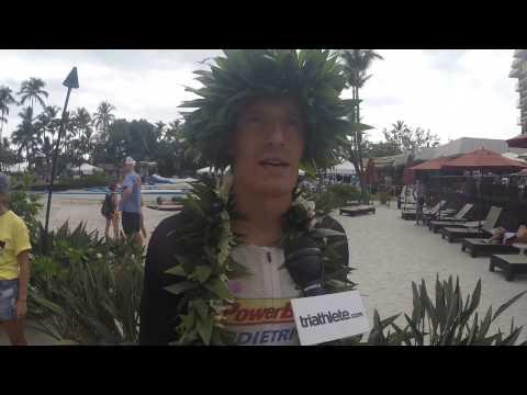 Post-Ironman World Championship Interview With Sebastian Kienle