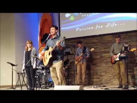 This is a video of me leading worship in Tampa, Florida at FishHawk Fellowship Church.