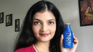 Nivea Sunscreen Spf 50 🌞| Best Sunscreen For Face & Body 👒👓| Itsarpitatime