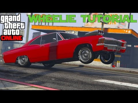 GTA 5 Online Arena War | How To Make A Perfect Wheelie