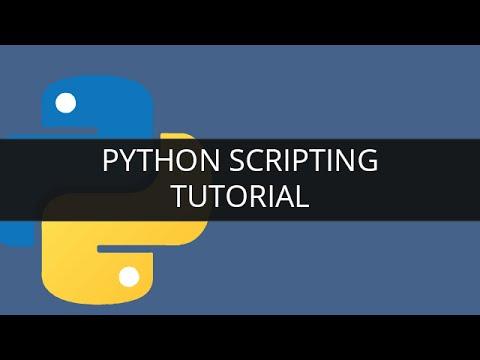 Python Scripting Tutorial for Beginners | Edureka - YouTube