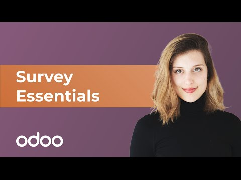 Umfrage Essentials   odoo Umfragen