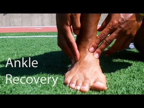 Video How To Recovery From A Ankle Sprain