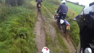 preview picture of video 'the MUD collective - Green Laning Leicestershire - 13.10.19'