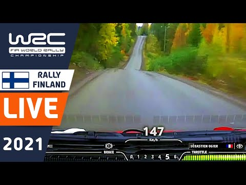 WRC LIVE : Rally Shakedown at WRC Secto Rally Finland 2021: The WRC live stream from WRC+ ALL LIVE