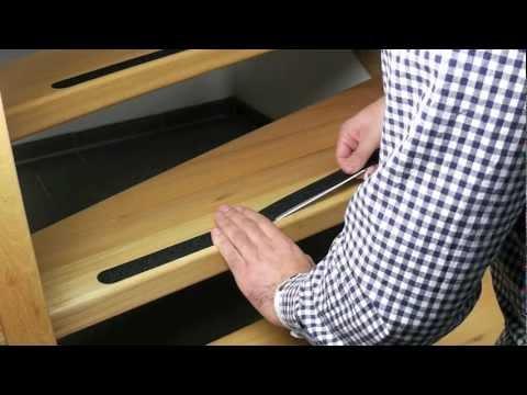 Anti-Rutsch Streifen für Treppen