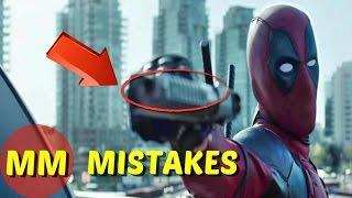 10 Biggest Biggest Deadpool MOVIE MISTAKES You Missed |  Deadpool MOVIE MISTAKES