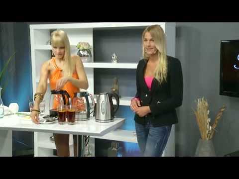 Rosenstein & Söhne Edelstahl-Wasserkocher 1,7 Liter mit Kalkfilter