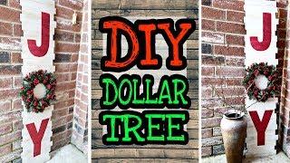 Dollar Tree DIY Christmas Decor / DIY Rustic Christmas Decorations