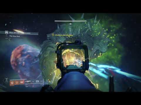 Destiny 2: Forsaken - Leviathan monster on Savathun's Song Strike