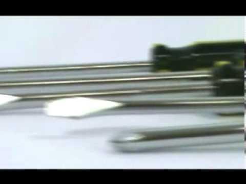 Chave De Fenda Phillips Jogo com 6 Peças - Video