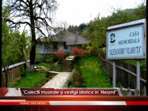 Colecţii muzeale şi vestigii istorice în Neamţ – VIDEO